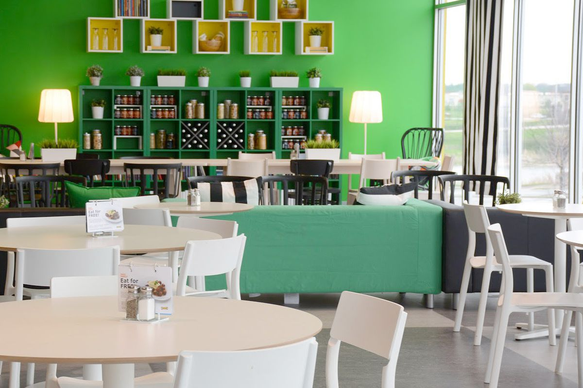 Score deals at ikea 39 s relaunched restaurant this month for Restaurant ikea miami