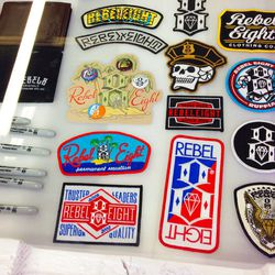 Sharpies, patches, pins and more are also on deck.