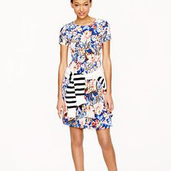 "<strong>J. Crew</strong> Pleated Silk Pocket Dress in Mai Tai Floral, <a href=""http://www.jcrew.com/womens_feature/NewArrivals/dresses/PRDOVR~01723/01723.jsp"">$295</a>"
