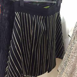 Chalkboard strip skirt, $89 (was $245)
