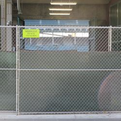 12:55 p.m. View at Gate Q (knothole gate) on Sheffield Avenue -