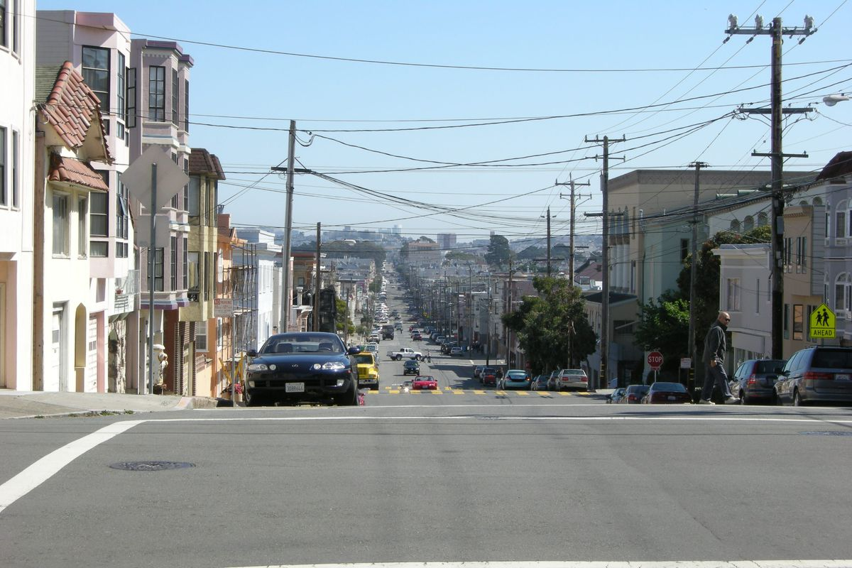 Clement is the northernmost limit of San Francisco's second eruv.