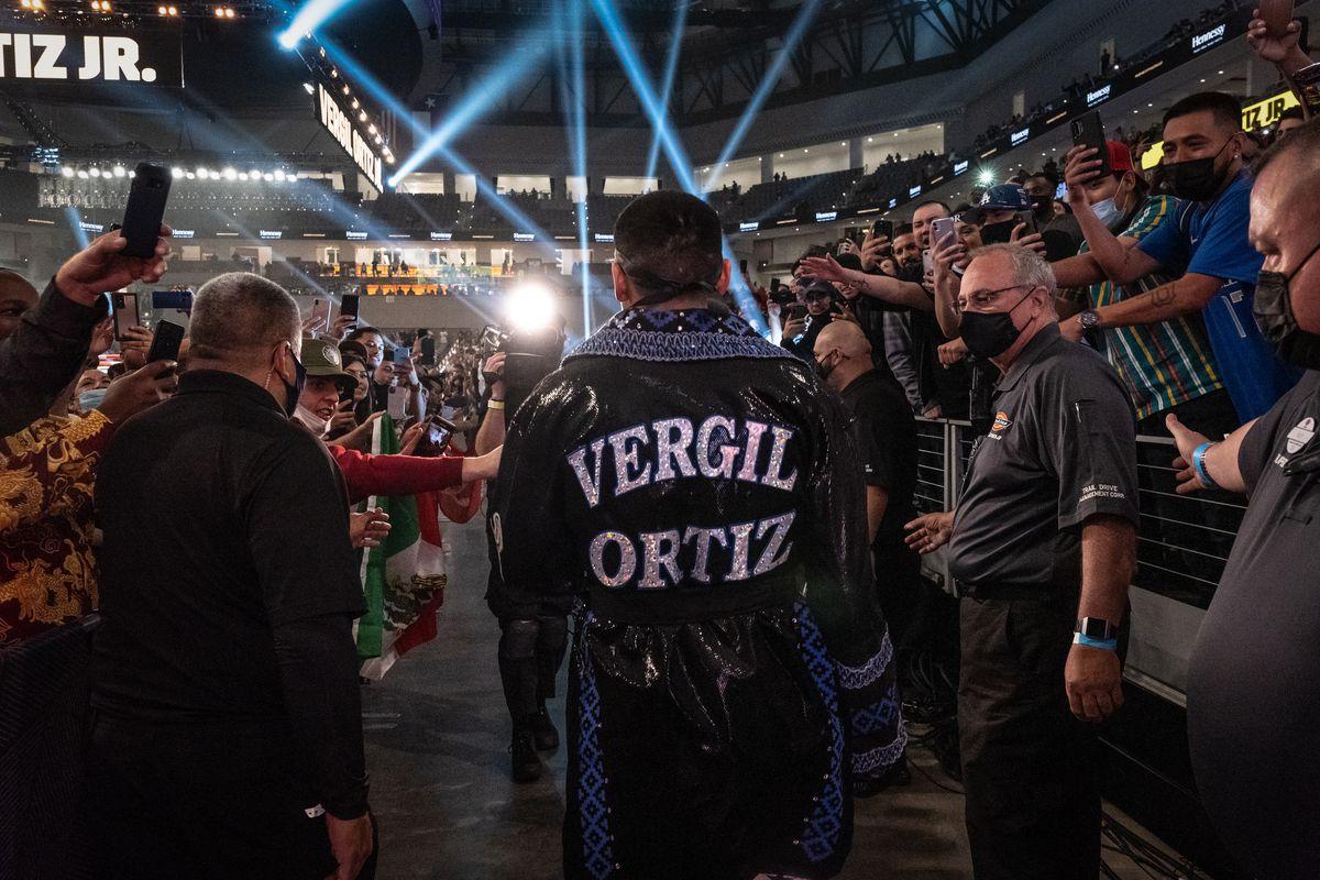 Vergil Ortiz Jr v Maurice Hooker