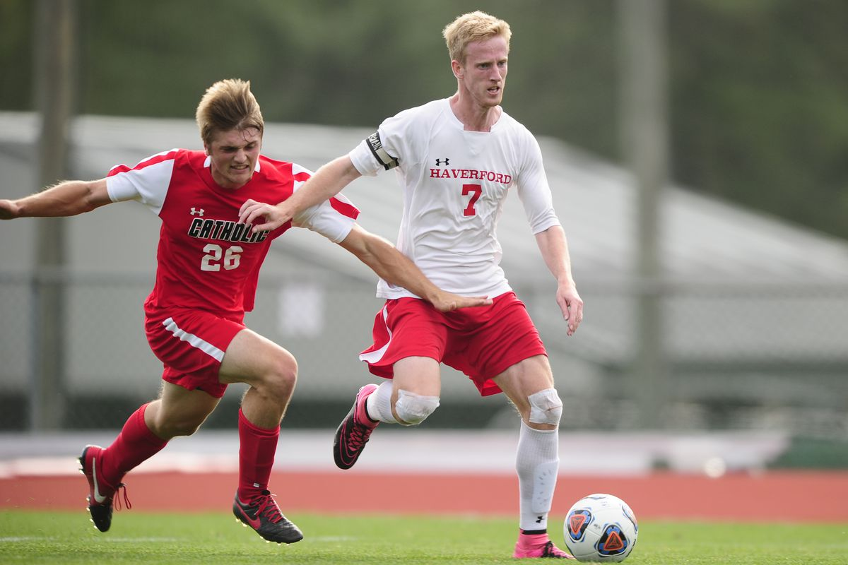 Sam Yarosh, of Haverford, the Centennial Conference Player of the Year and Scholar-Athlete of the Year