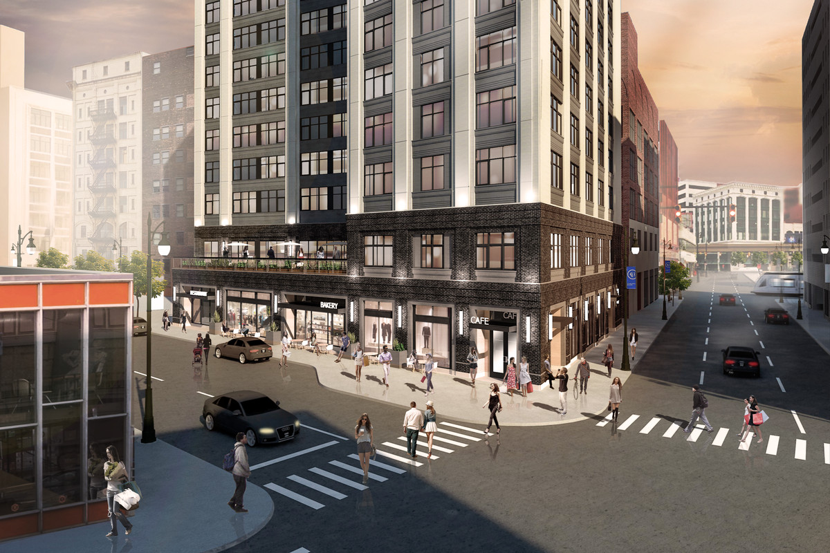 A rendering of 28 Grand.