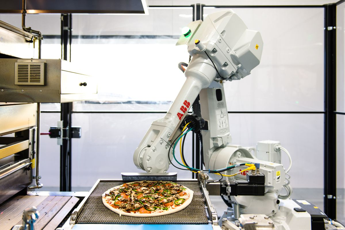 zume s robot pizzeria could be the future of workplace automation the verge. Black Bedroom Furniture Sets. Home Design Ideas