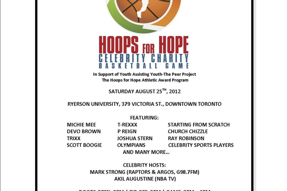 If you are in the Toronto area, this is definitely a worthwhile event to check out.