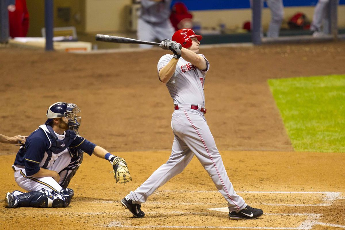 Would the pitch that Jay Bruce hit have been in the strike zone? The answer is trickier than you think.