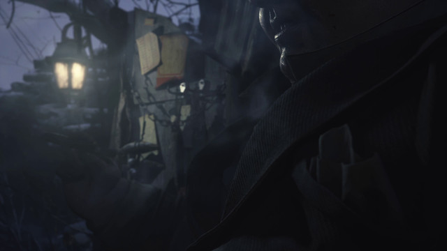 RE8 trailer smoking guy at end