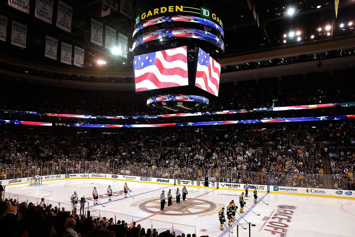It all begins at home (TD Garden)