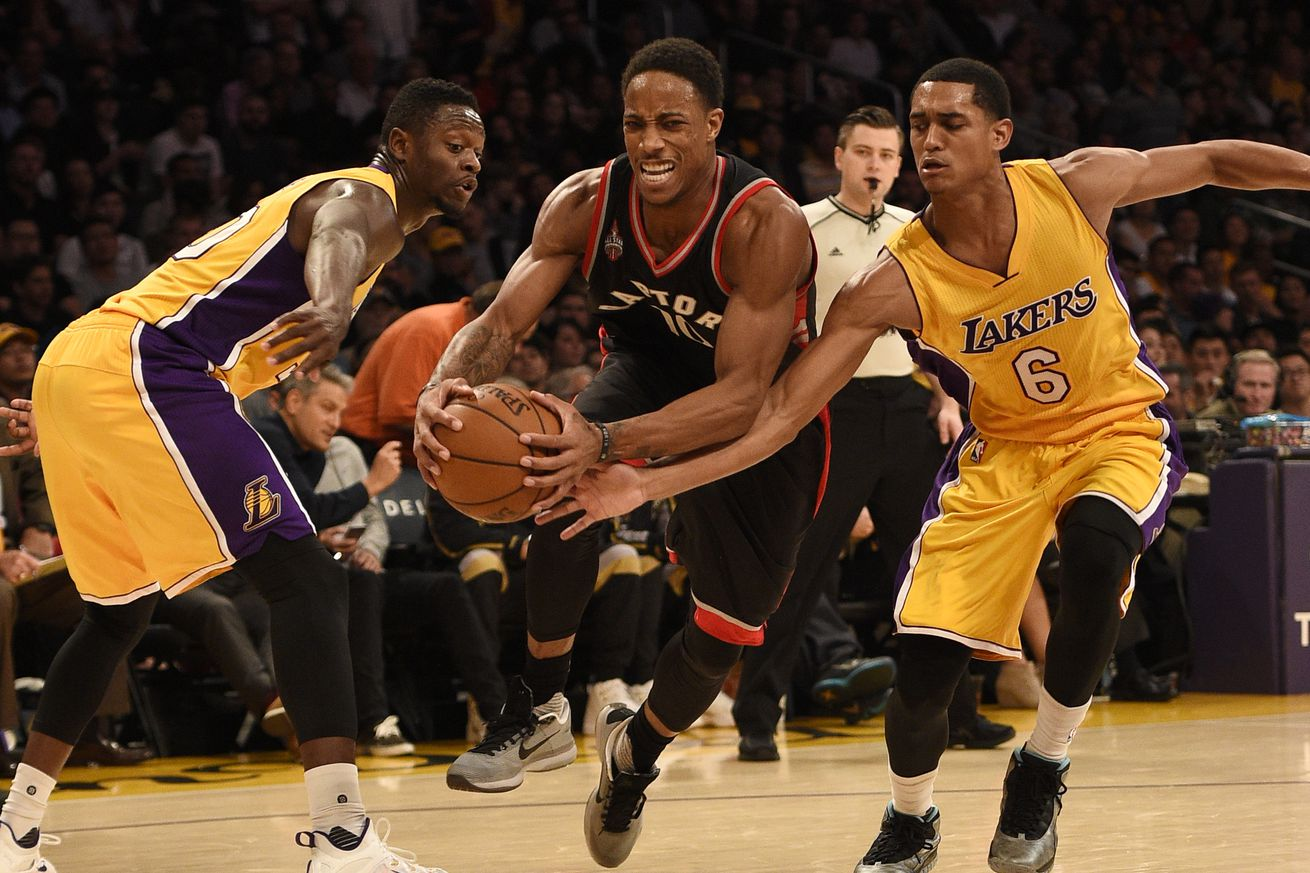Lakers Vs Raptors Detail: Raptors Vs. Lakers: Now This Is Going To Be Fun