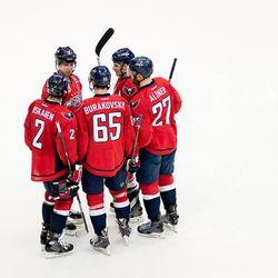 Capitals Talk On Ice