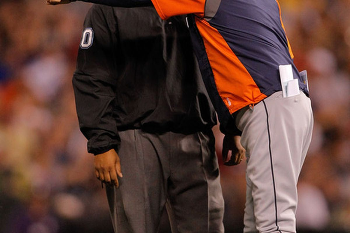 Replays showed Leyland was correct, but it was so close a call it's a bit surprising to see the manager argue it.
