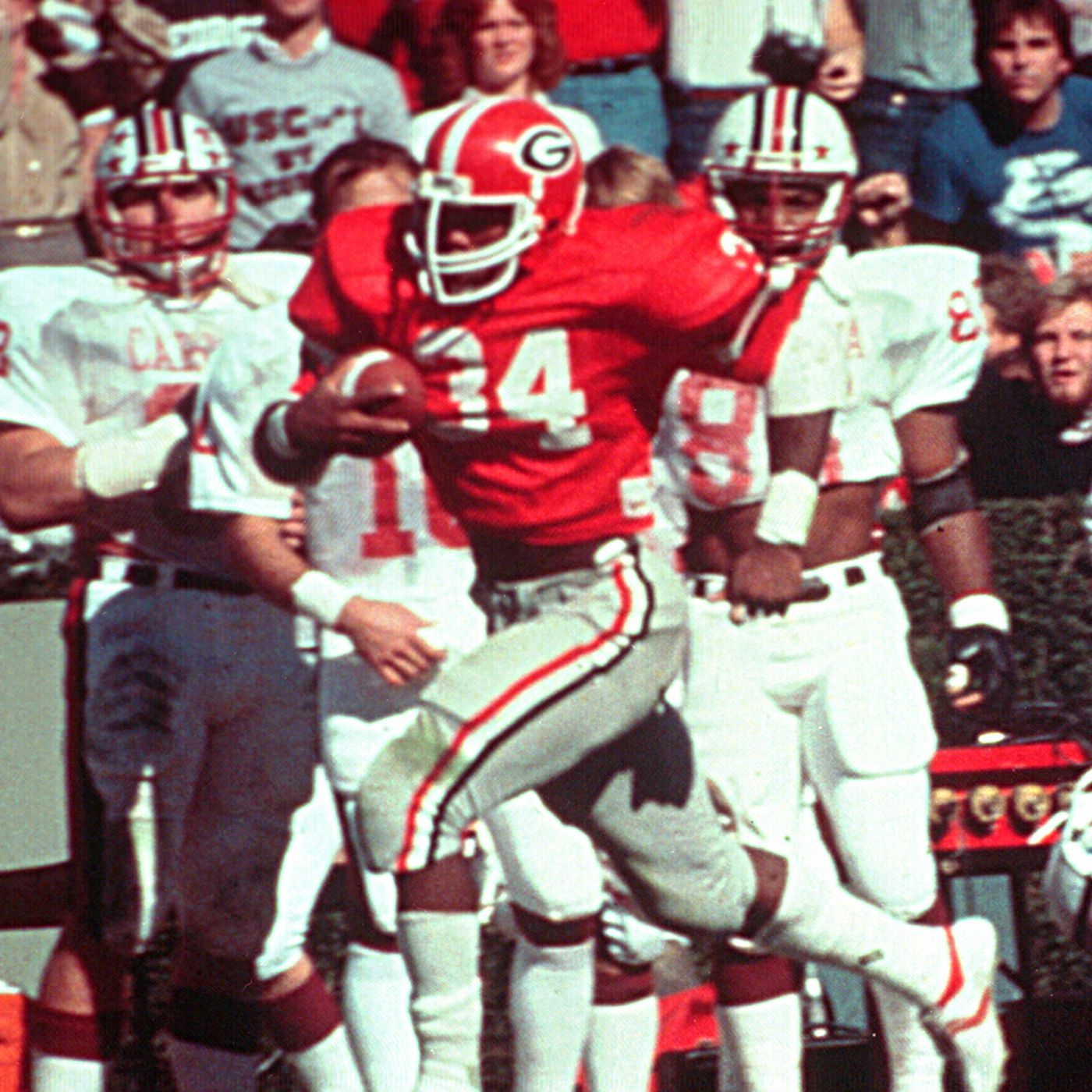 the best attitude 841c8 42fec Game of the Year of the Day, 1980: Georgia 13, South ...