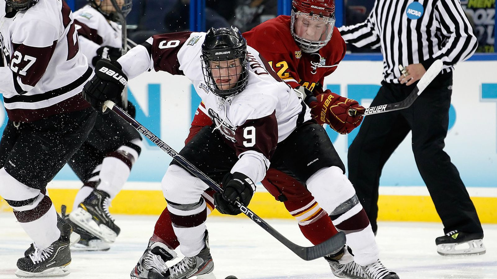NCAA Hockey Tournament: Union leads Vermont, 2-1, after 1 ...