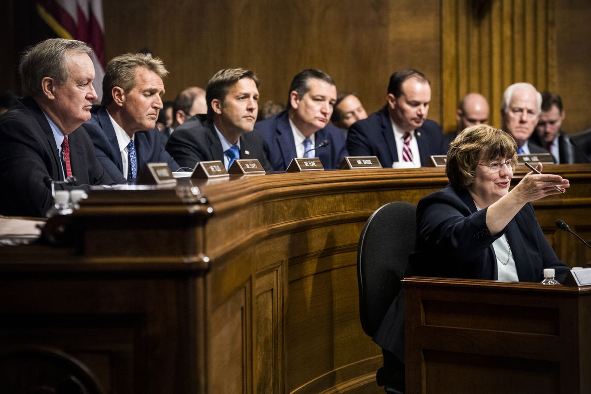 Senators Questioning Ford >> Kavanaugh Hearing The All Male Republican Panel That Will Judge