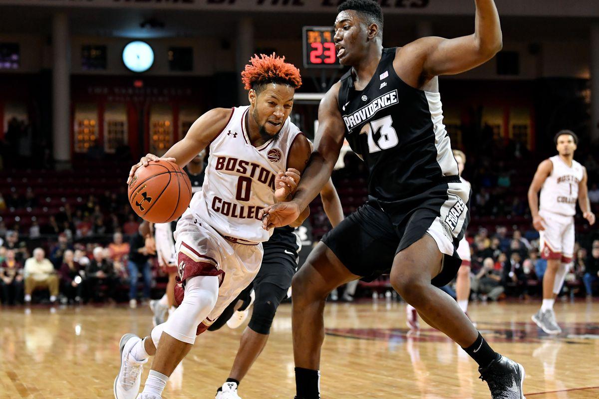 NCAA Basketball: Providence at Boston College