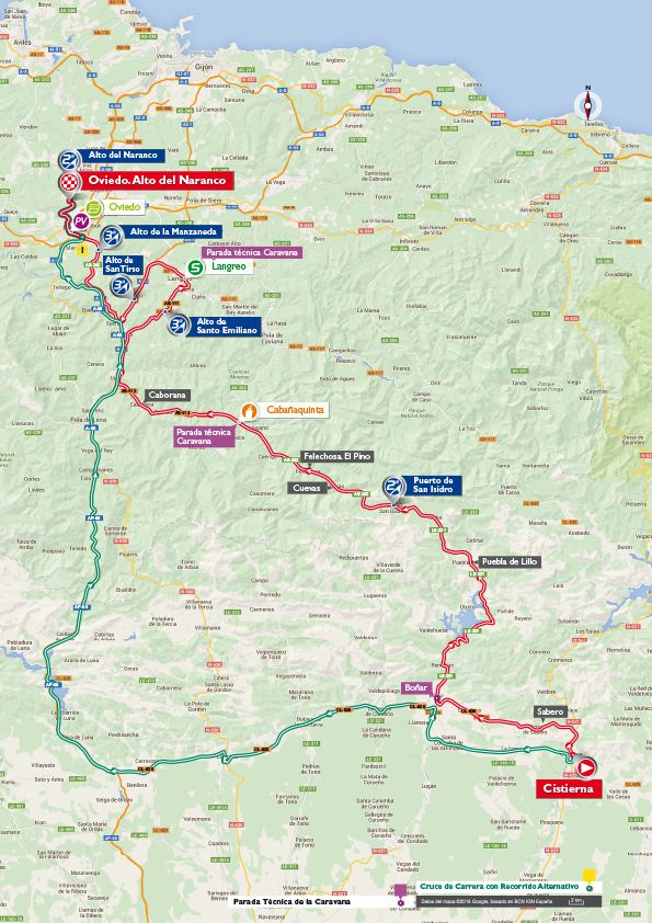 Stage 9 map