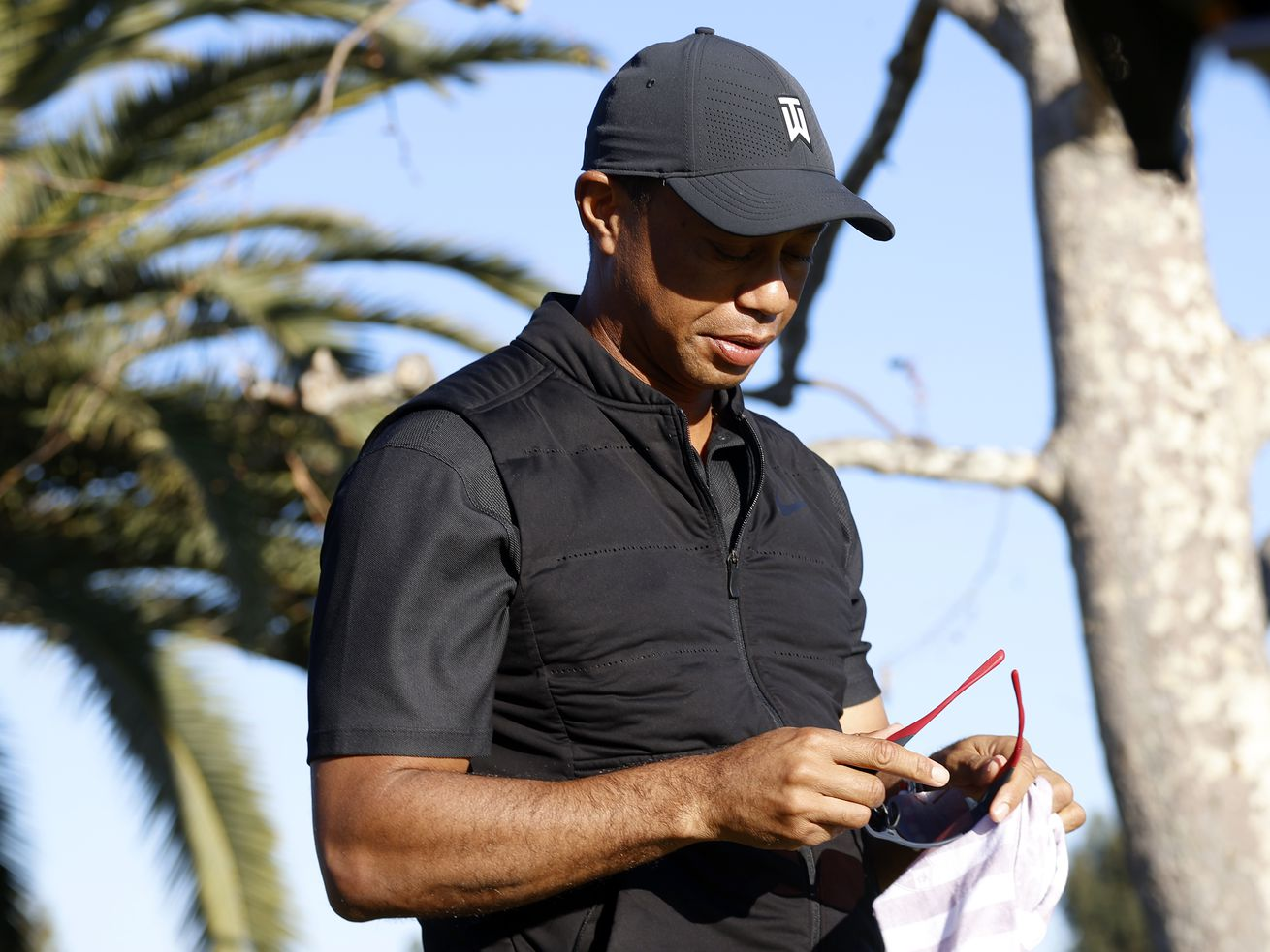 The latest: Investigators to review black box for Tiger Woods crash