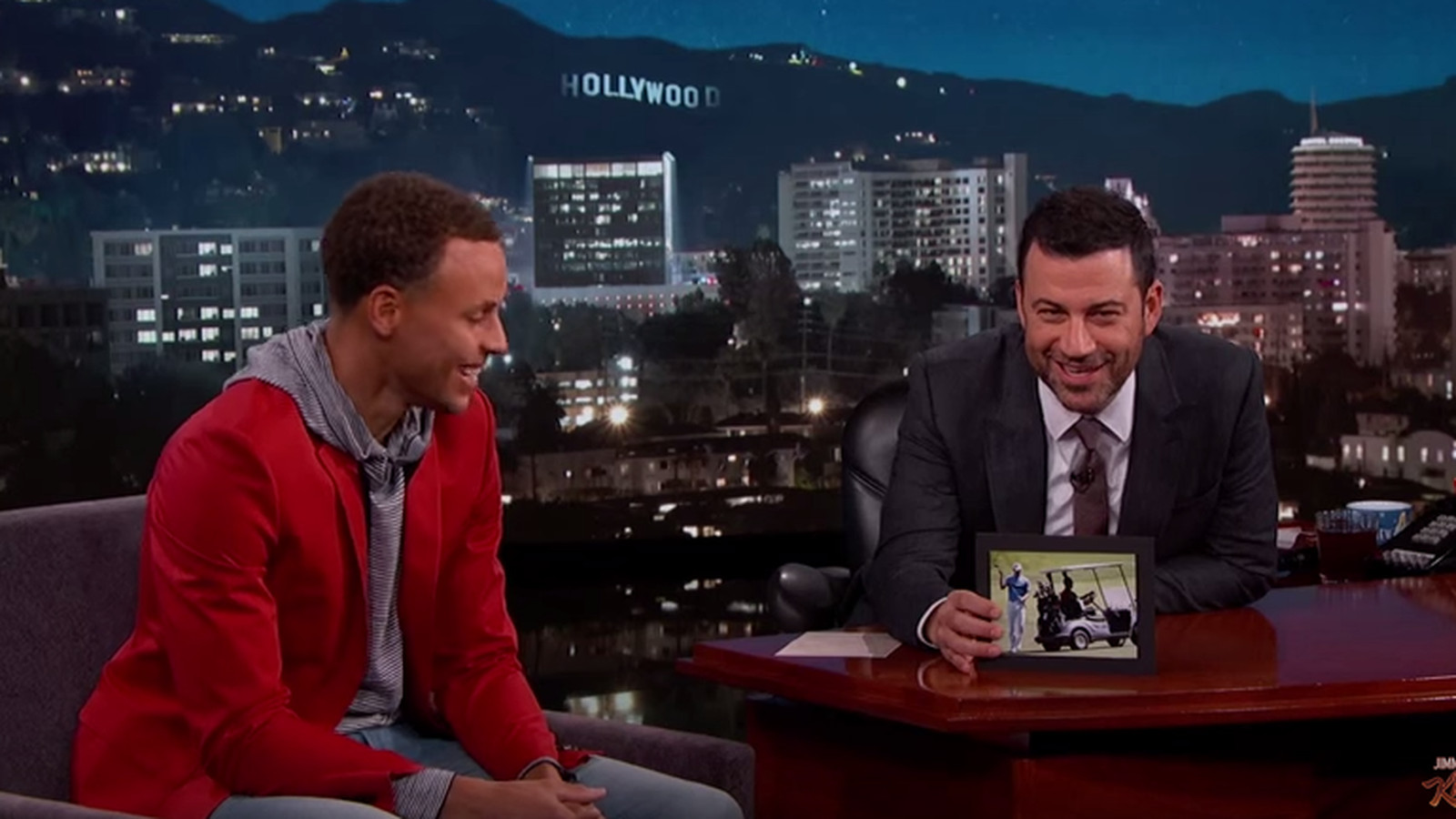 Steph talks golfing with Obama and his trash talk