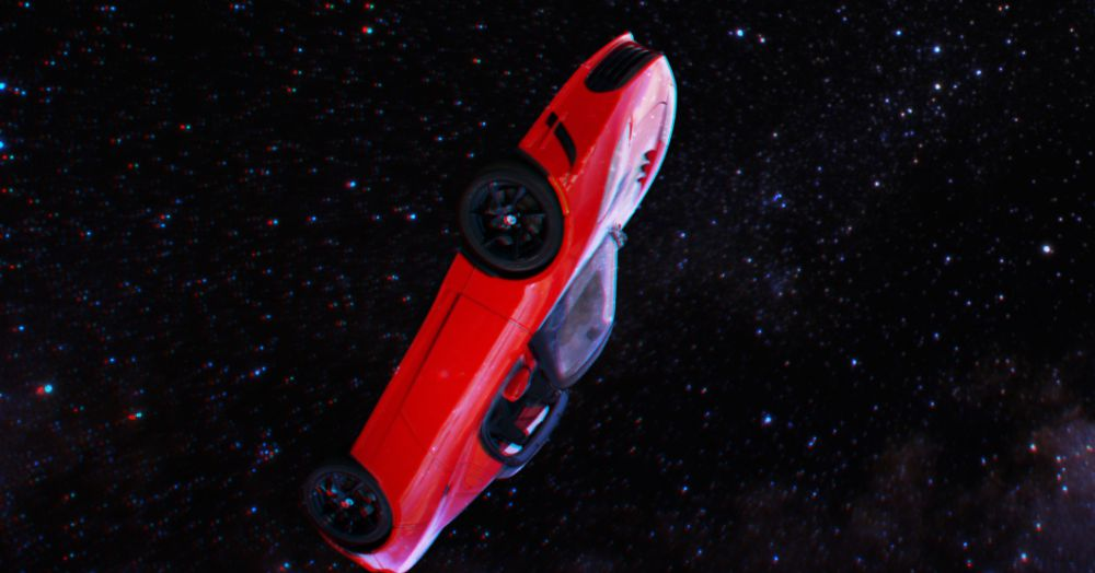 Is Elon Musk even allowed to send his car to deep space?