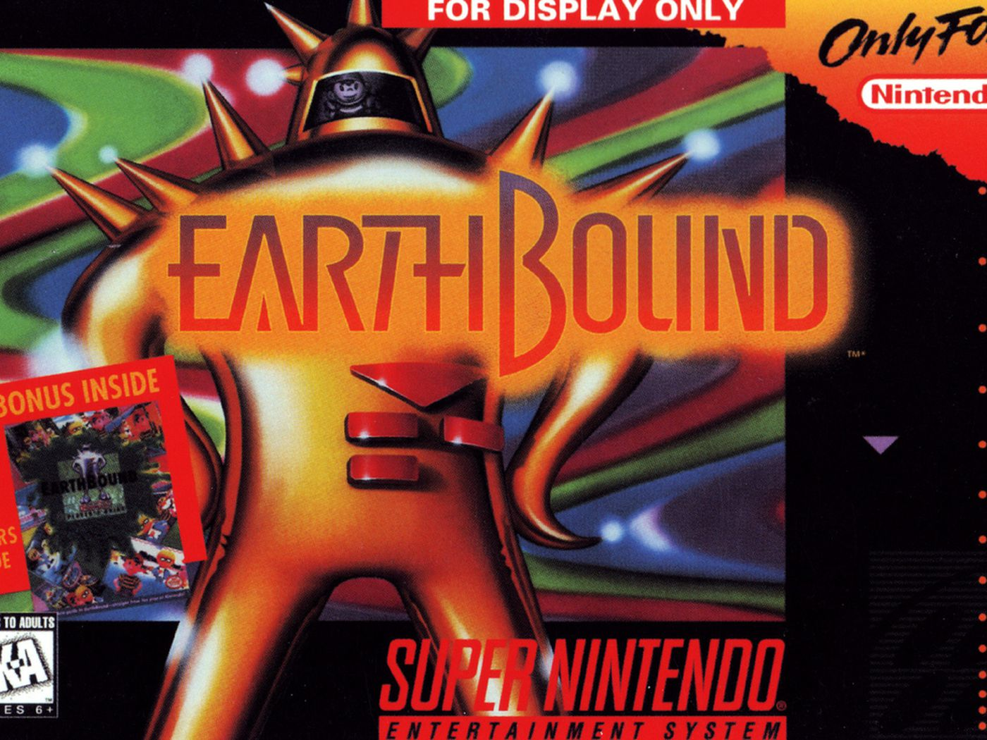 Why did Nintendo quash a book about EarthBound's development
