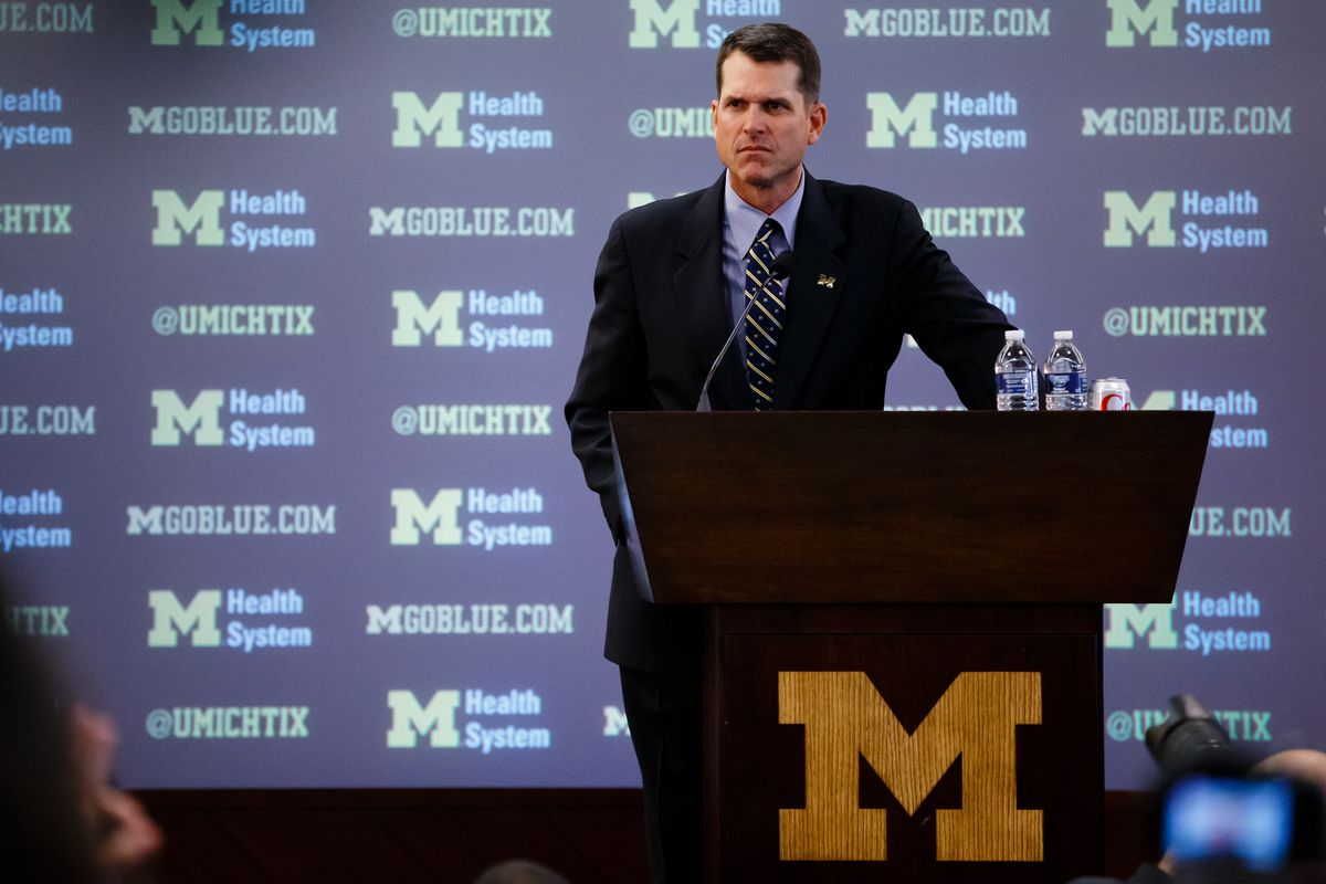 NCAA Football: University of Michigan-Jim Harbaugh Press Conference