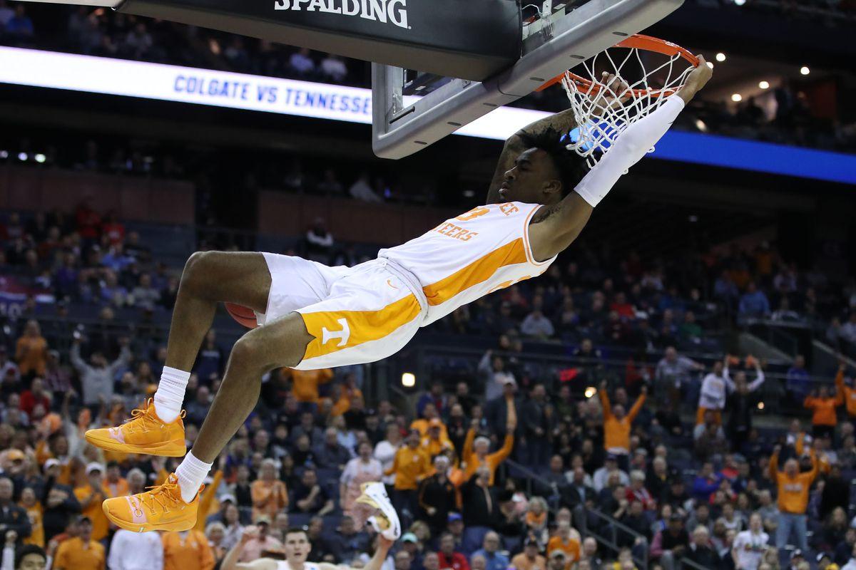 NCAA Basketball: NCAA Tournament-Colgate Raiders vs Tennessee Volunteers