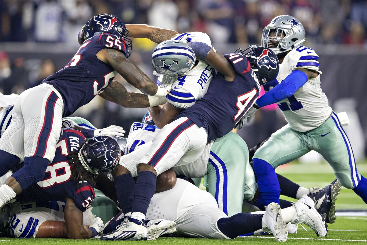 625f66be Roster watching for the Dallas Cowboys' preseason game vs the Texans ...