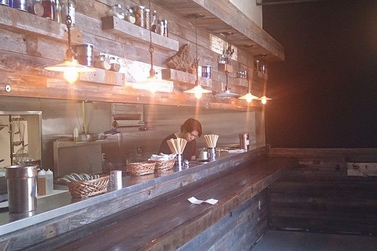 Belly up to the bar at Ten for some vegetarian-friendly ramen.