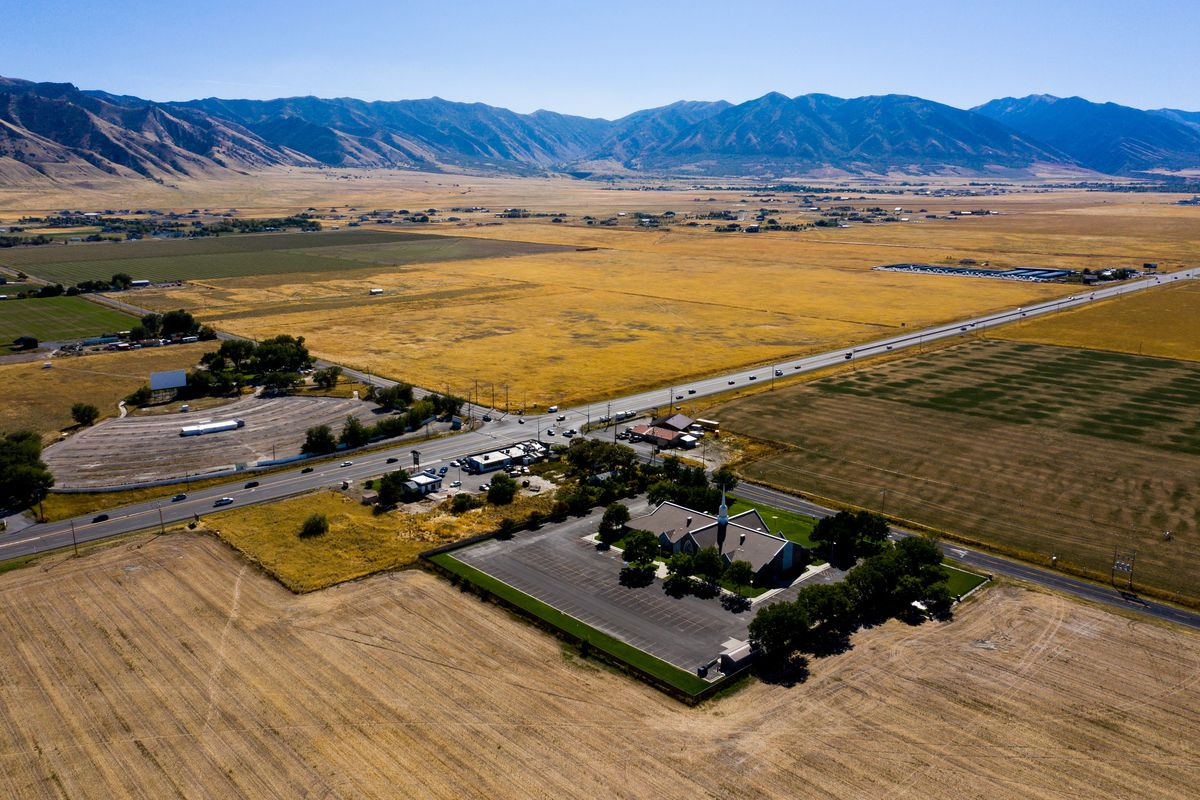 The site for the Tooele Valley Utah Temple of the Church of Jesus Christ of Latter-day Saints in Erda, Tooele County, is pictured on Wednesday, Sept. 25, 2019.