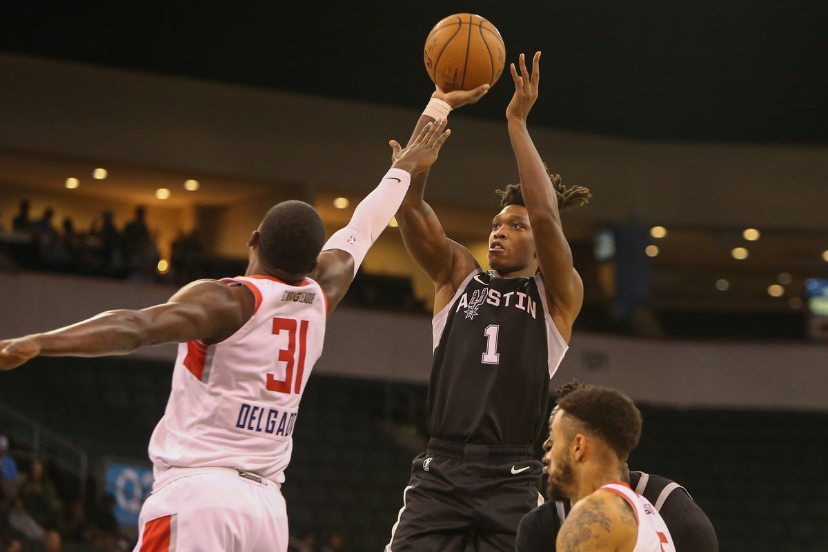 Lonnie Walker continues to impress for Austin Spurs - Pounding The Rock f8450c367
