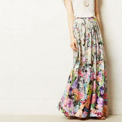 """<strong>Ranna Gill</strong> Firefleur Maxi Skirt, <a href=""""http://www.anthropologie.com/anthro/product/clothes-skirts/4120342381008.jsp?cm_sp=Grid-_-4120342381008-_-Large_1"""">$168</a> at Anthropologie"""