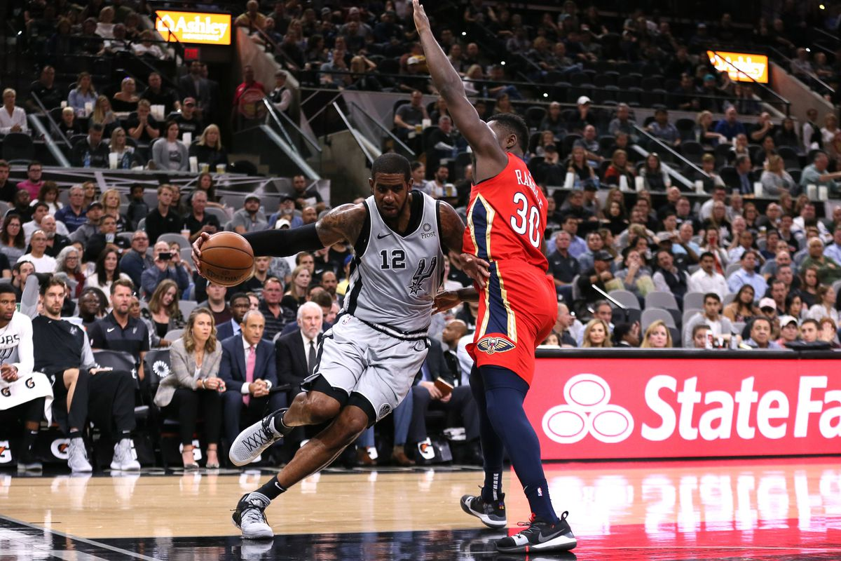 New Orleans At San Antonio Final Score Spurs Fly Over Pelicans 109 95 Pounding The Rock