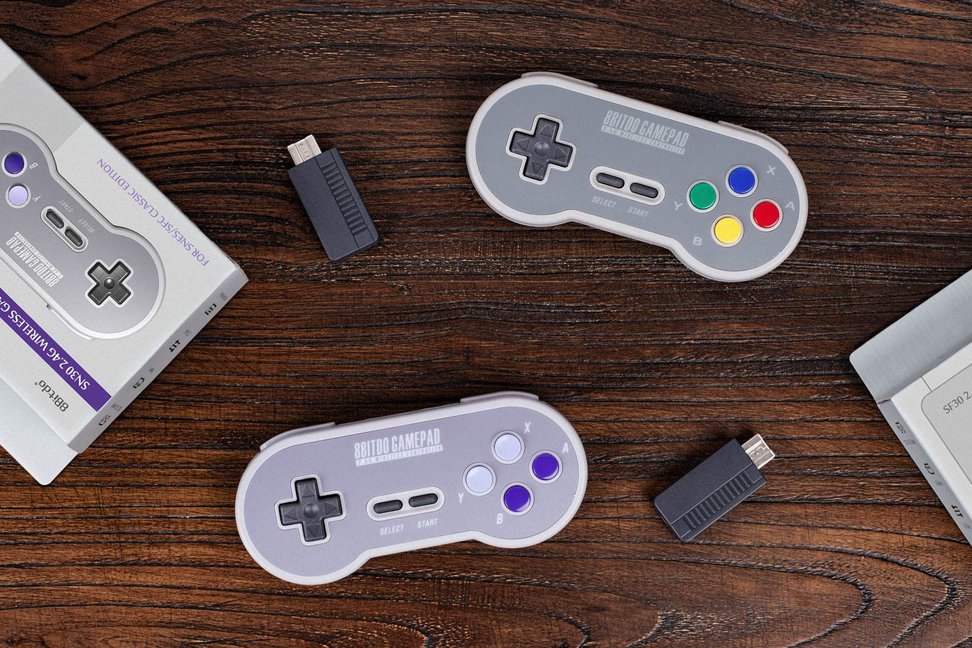 The SNES Classic is so much better with a wireless