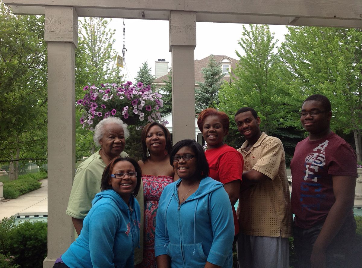 Jerry Scott went on every college tour and drop-off for her grandchildren. | Family photo