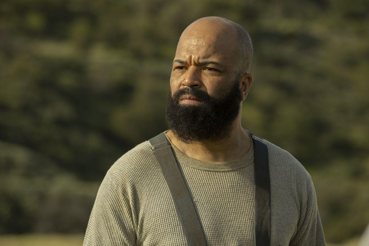 Bald Bernard (and Arnold) in Westworld season 3