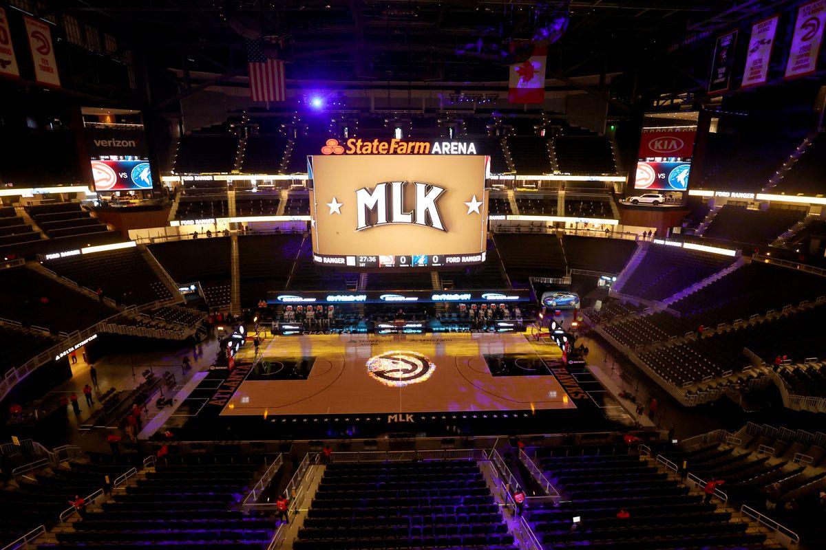 NBA: Minnesota Timberwolves at Atlanta Hawks