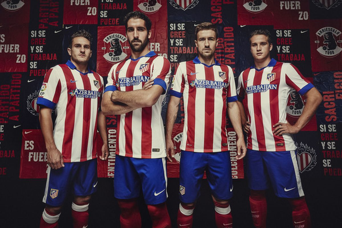 401144d86 Atlético Madrid handed Nike home kit upgrade to defend title for 2014/15
