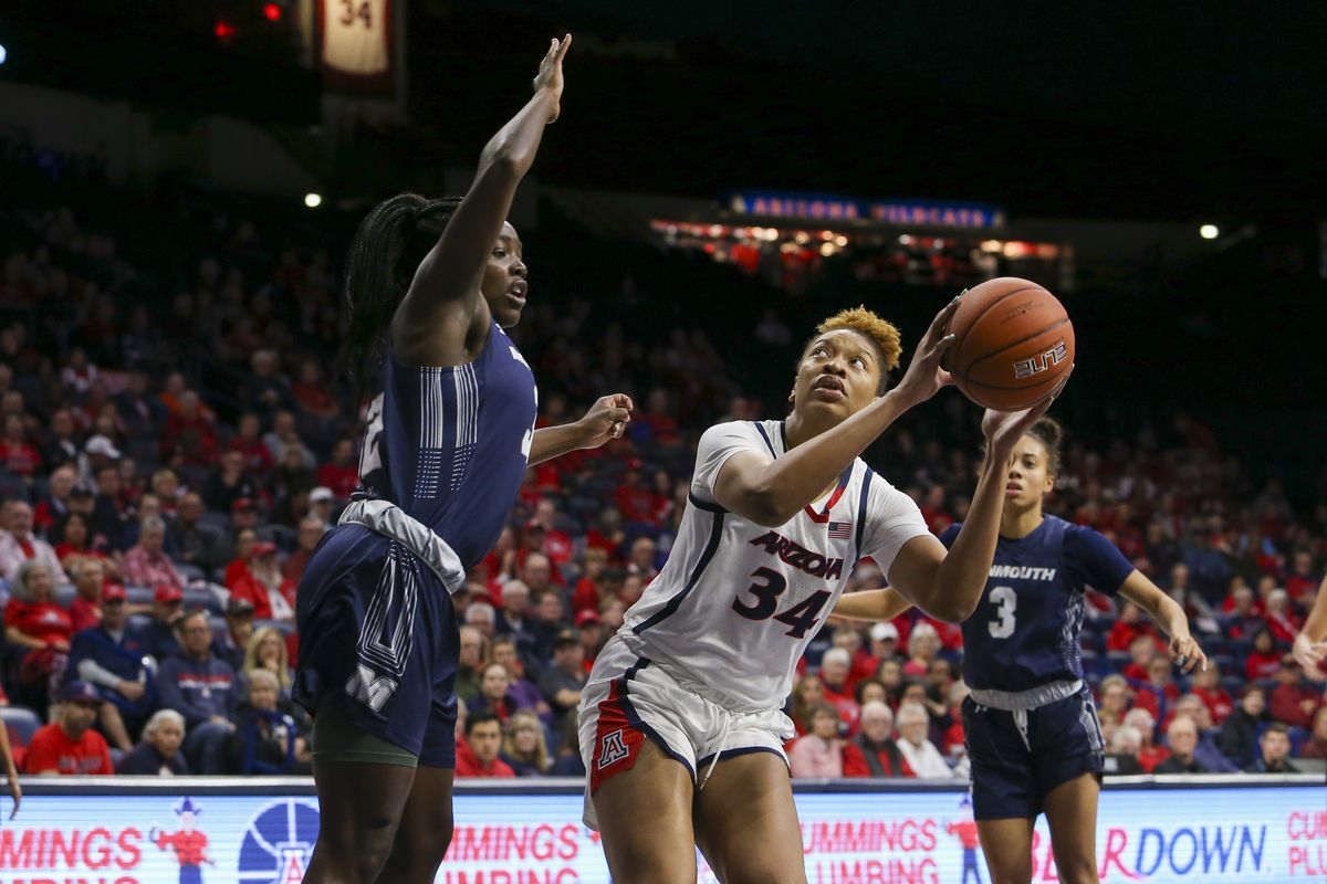 COLLEGE BASKETBALL: DEC 02 Women's Monmouth at Arizona