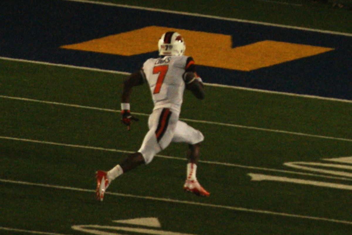 Brandin Cooks will be looking to run to some more touchdowns in the dark tonight in Tempe.