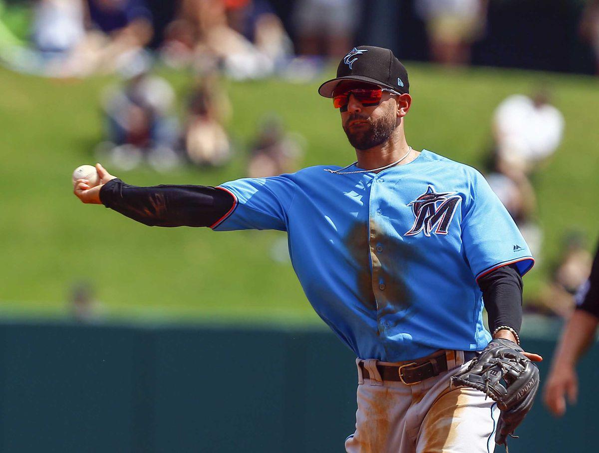 MLB: Spring Training-Miami Marlins at Atlanta Braves
