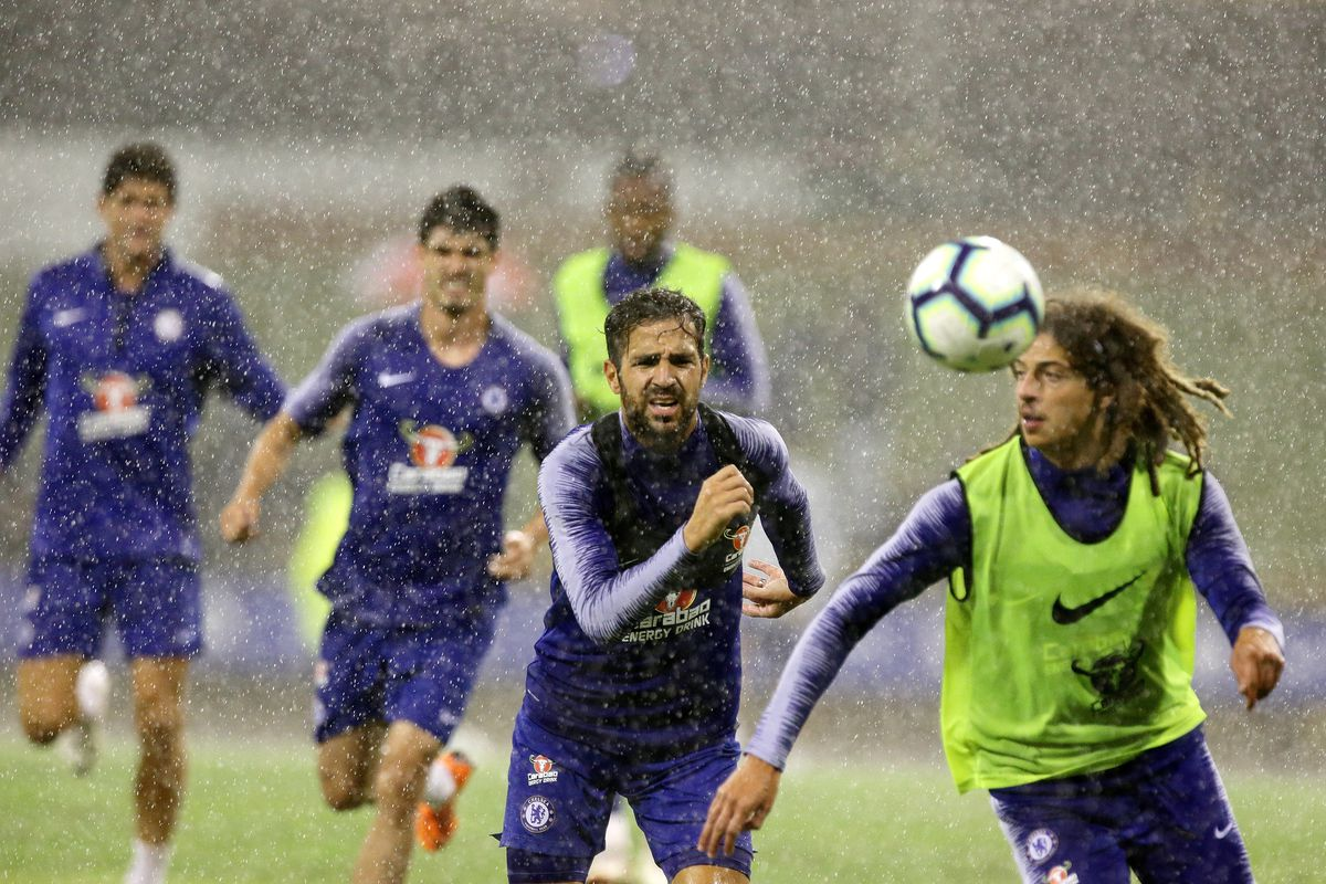 Chelsea FC Training Session
