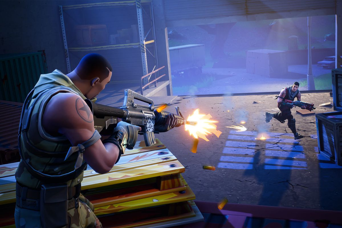 fortnite battle royale event at e3 brings celebs esports pros