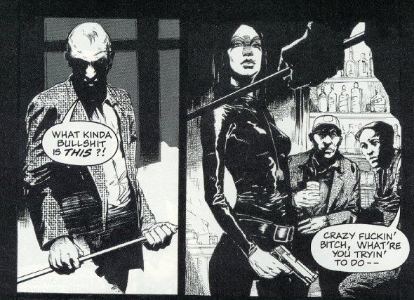 From The Crow: Flesh & Blood, Dark Horse Comics (2019).