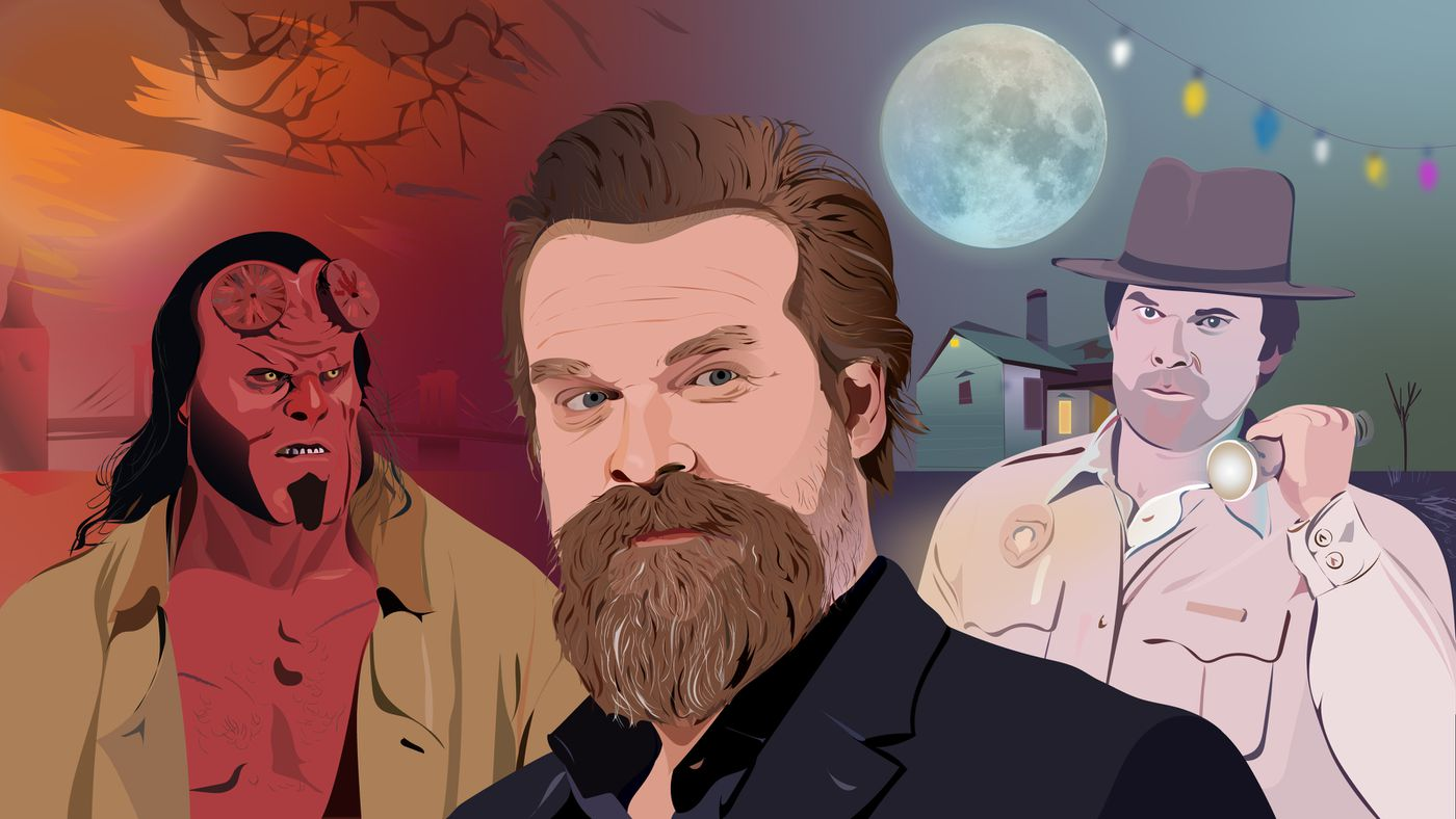 David Harbour, the Hellboy Next Door