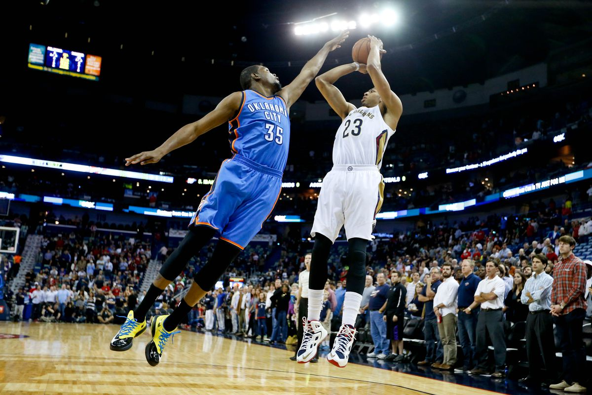 Who's the better Fantasy player: Kevin Durant or Anthony Davis?