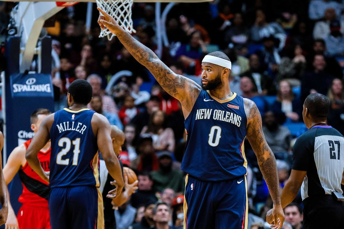 d1ceeb3681e NBA Free Agency 2018  New Orleans Pelicans may lose DeMarcus Cousins for  nothing