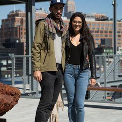 <b> Taina, 27, ad tech recruiter, and Maximillian, 29, jewelry salesman, New York City</b>