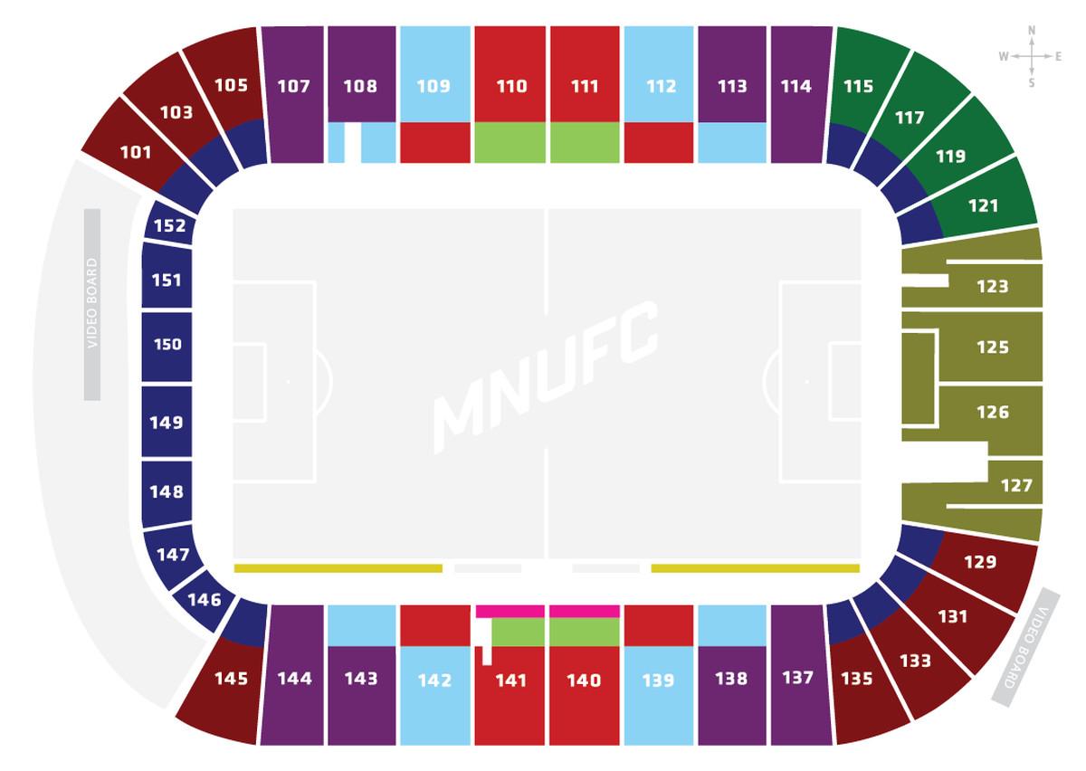tcf bank stadium schedule